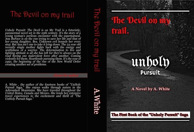 Unholy Pursuit print book cover